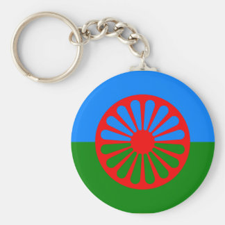Roma, India Keychain