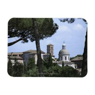 Roma, Italia 3 Imanes De Vinilo
