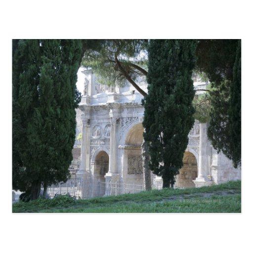 Roma, Italia 4 Postales