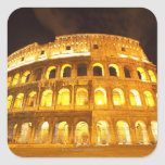 Roma, Italia 8 Colcomanias Cuadradas