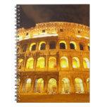 Roma, Italia 8 Libros De Apuntes Con Espiral