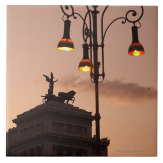 Roma, Italia 9 Azulejo Cuadrado Grande