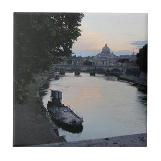 Roma, Italia Azulejo Cuadrado Pequeño