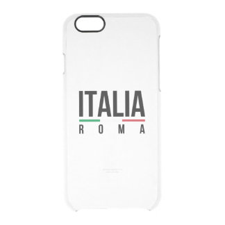 Roma Italia Clear iPhone 6/6S Case