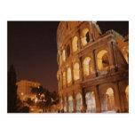 Roma Italia Colosseum Postal
