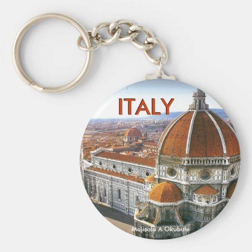 ROMA, ITALIA (Mojisola un Gbadamosi Okubule) Llavero Redondo Tipo Pin