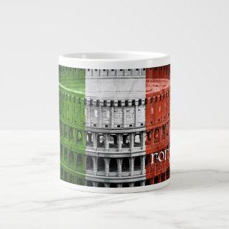 Roma Italia Mug 20 Oz Large Ceramic Coffee Mug