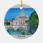 Roma, Italia - ornamento Ornamento Para Arbol De Navidad