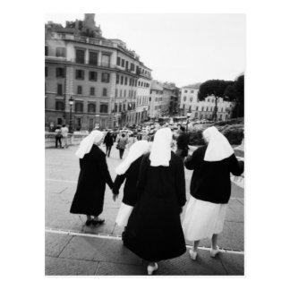 ¡Roma Italia, patrulla de la monja! (NR) Postales