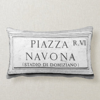 Roma, Italia - plaza Navona Cojín