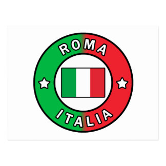Roma Italia Postcard