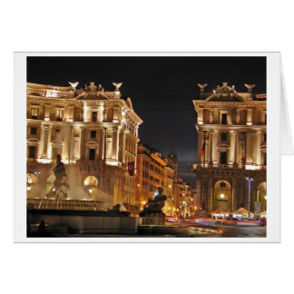 Roma, Italia Tarjeta
