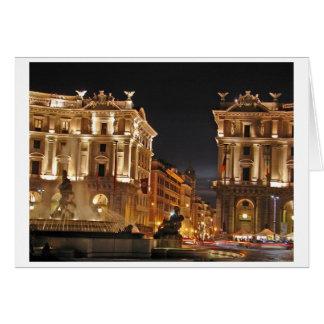 Roma, Italia Tarjeta Pequeña