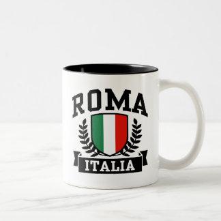 Roma Italia Two-Tone Coffee Mug