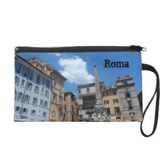 Roma, Italia Wristlet Purse