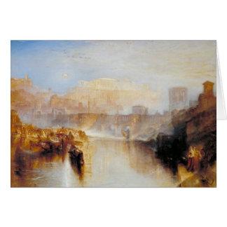 Roma - J.M.W. antiguos Turner Tarjetón