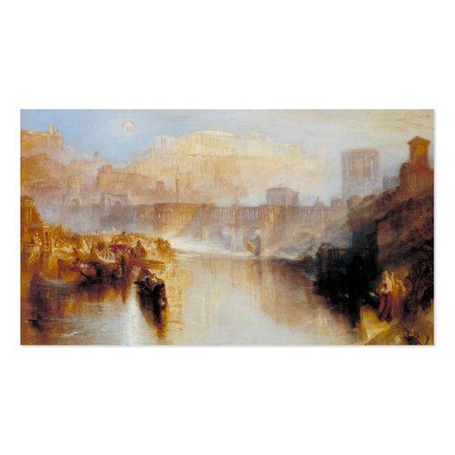 Roma - J.M.W. antiguos Turner Tarjetas De Visita