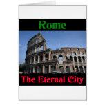 Roma la ciudad eterna. felicitacion