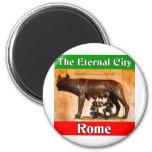 Roma la ciudad eterna imán para frigorifico