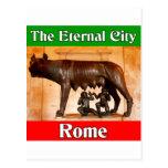 Roma la ciudad eterna postal