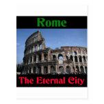 Roma la ciudad eterna. postal