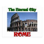 Roma la ciudad eterna tarjetas postales