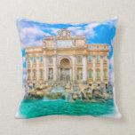 Roma - La Dolce Vita - fuente del Trevi Cojines