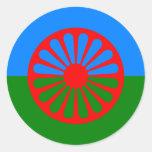 Roma, la India Pegatinas