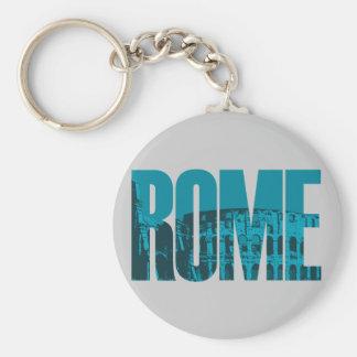 Roma Llavero Redondo Tipo Pin