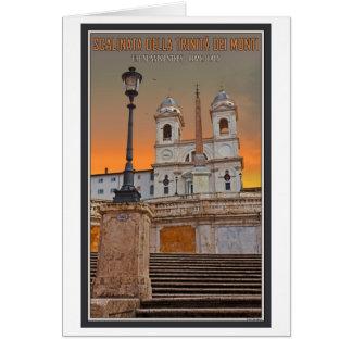 Roma - los pasos del español tarjeton