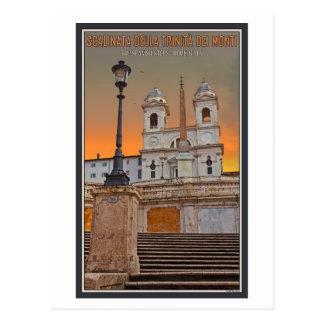 Roma - los pasos del español postales