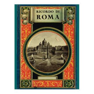 Roma, marco adornado tarjetas postales
