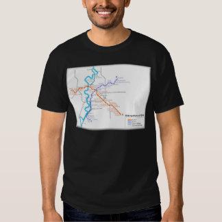 Roma Metro Map T-Shirt