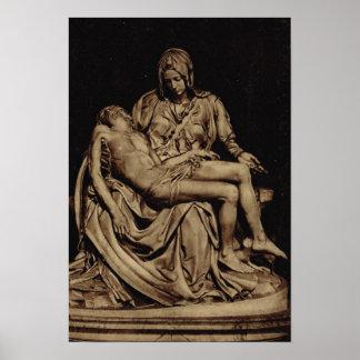 Roma, Miguel Ángel, Pieta Poster