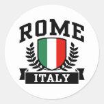 Roma Pegatina Redonda