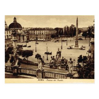 Roma, Piazza del Pablo Postal