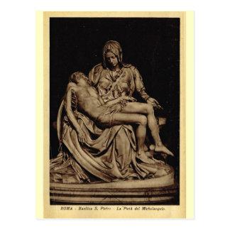 Roma, Pieta, por Miguel Ángel Tarjeta Postal