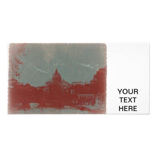 Roma Plantilla Para Tarjeta De Foto