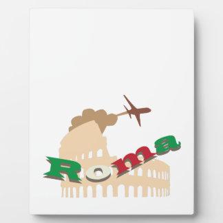 Roma Plaque