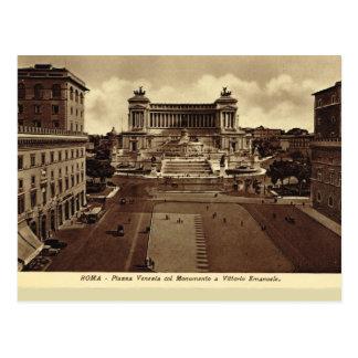 Roma, plaza Venezia Tarjetas Postales