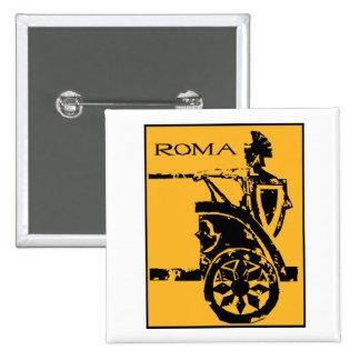 Roma Poster Pinback Button