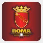 Roma (Roma) Colcomanias Cuadradas Personalizadas