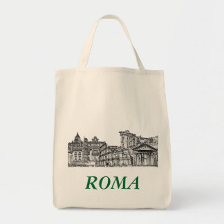 Roma Rome travel souvenir gifts Canvas Bags