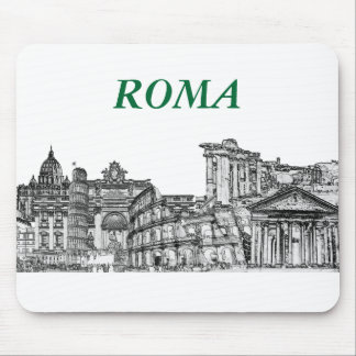 Roma, Rome... travel souvenir gifts Mousepad