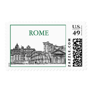 Roma, Rome... travel souvenir gifts Postage Stamps