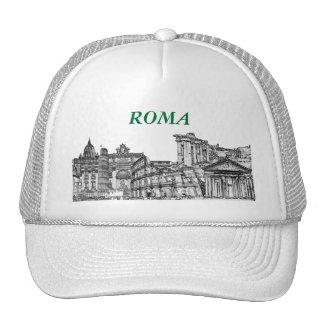 Roma, Rome... travel souvenir gifts Trucker Hat