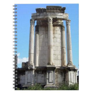Roma (ruinas del foro) notebook