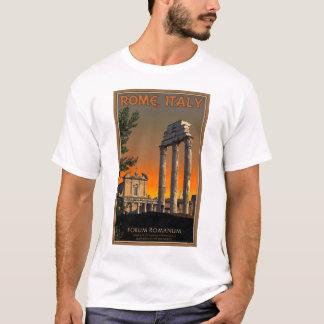 Roma - ruinas del templo en el foro Romanum Playera