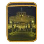 Roma Sant' Angelo by Night Black Sleeve Für iPads
