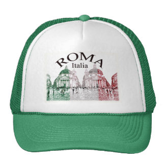 Roma selló gorra